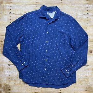 NWT Hartford button down linen shirt